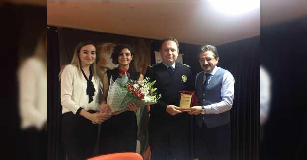 Emniyet Müdürü Taner Ertürk Çizgi Koleji Kariyer Günlerine Katıldı