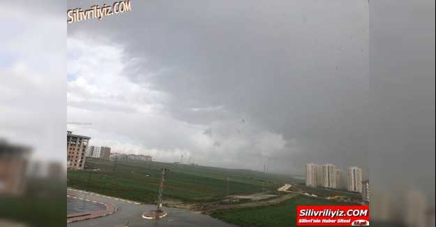 Silivri'de Fırtına Etkili Oluyor…