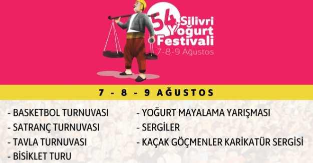 54. Silivri Yoğurt Festivali 2015