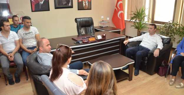 AK PARTİ'DEN MHP'YE İADE-İ ZİYARET...g