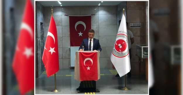 """Silivri Cumhuriyet Başsavcısı Nihat Demir;""""ülkemiz, milletimiz ve adalet teşkilatımız için hayırlı olmasını diliyorum."""