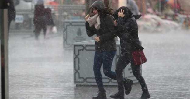 Silivri'de Fırtına Uyarısı…