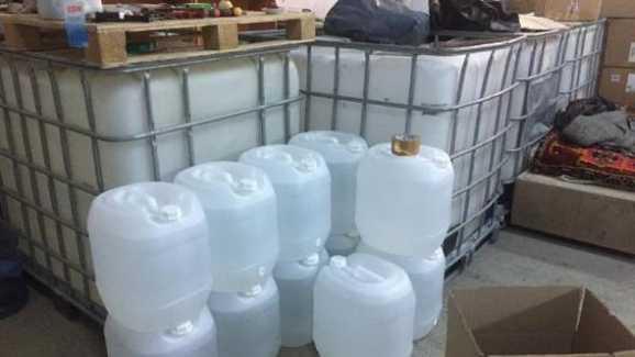 Silivri Alipaşa'da Sahte İçkiye Baskın…