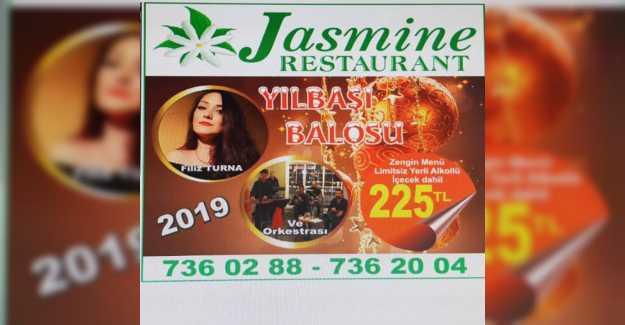 Yılbaşına Jasmin Restaurant'ta Ailenizle Birlikte Girmeye Ne Dersiniz?