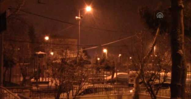 Silivri'de Bu Gece Kar Yağışı Var!