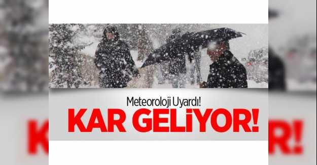 Silivri'de Hafta Sonu Kar Yağışı Bekleniyor…