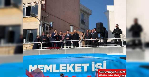 """Süleyman SOYLU 10 Bin kişiye söz verdi, """"Volkan Yılmaz'ın Emrindeyim."""" VİDEO HABER"""