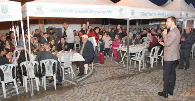 İlk Gönül Sofrası Gazitepe'de Kuruldu...
