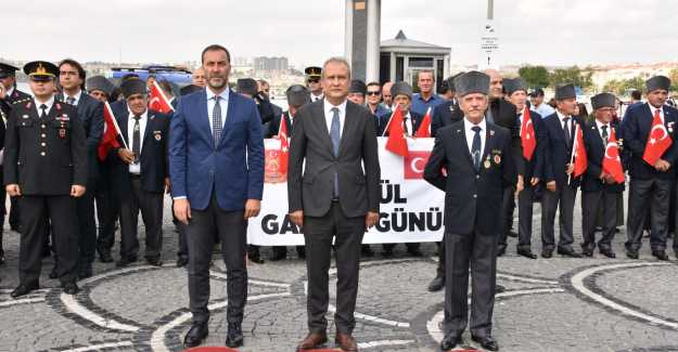 """KAYMAKAM ALİ PARTAL: """"GAZİLER GÜNÜNÜZÜ TEBRİK EDİYORUM"""""""