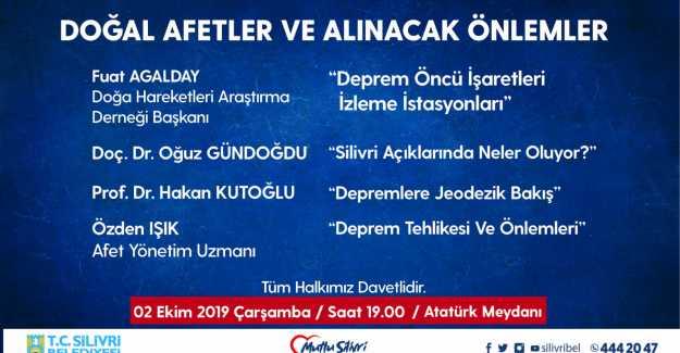 DEPREM PANELİNE DAVETLİSİNİZ...