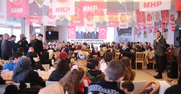 MHP'DEN SELİMPAŞALI KADINLARA ÖZEL TOPLANTI...