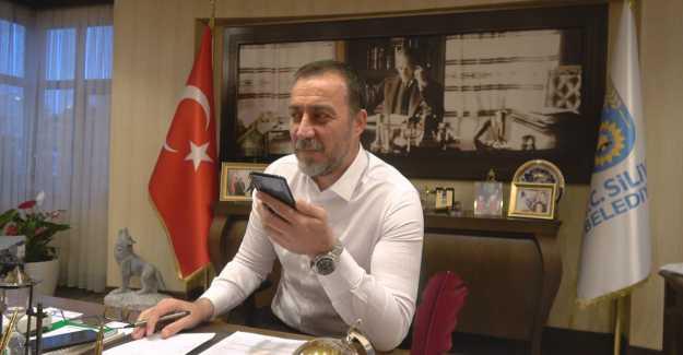 BAŞKAN YILMAZ 65 YAŞ ÜSTÜ VATANDAŞLARI TELEFONLA ARADI... VİDEO HABER