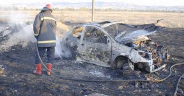 Araç Yakıp Adam Öldüren Şahıs Tutuklandı...