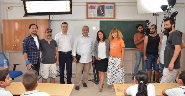 MUTLU BOZOĞLU'NUN GİRİŞİMLERİ İLE TRT EKİBİ SİLİVRİ'YE GELDİ...