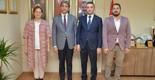 Mustafa Demir Silivri İlçe Başkanlığını Ziyaret Etti...