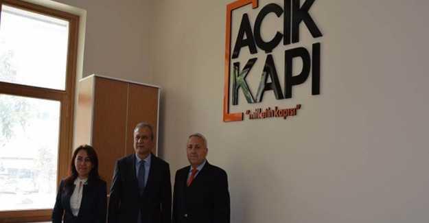 """KAYMAKAMLIKTAKİ """"AÇIK KAPI""""NIZ"""