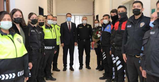 BAŞKAN YILMAZ'DAN POLİS HAFTASI MESAJI