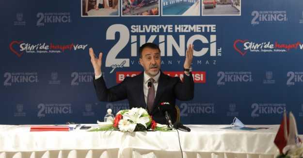 "BAŞKAN YILMAZ ""HODRİ MEYDAN"""