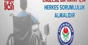 Engelliler Haftası Değil Farkındalık Haftası...