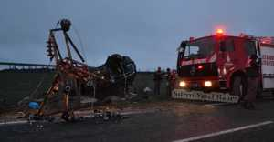 Silivri'de Trafik Kazası Can Aldı…