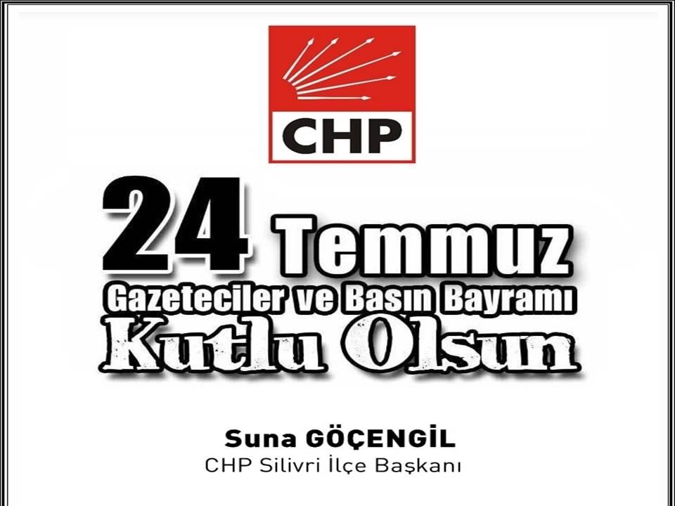 Göçengil, 'Gazeteciler ve Basın Bayramı' tebrik mesajı