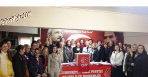 CHP Silivri İlçe Kadın Kolları Başkanı Seçildi...