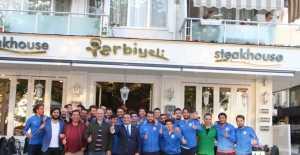 Akgün Duru'dan Silivrispor'a Moral Takviyesi...