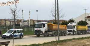 Silivri'de Hafriyat Kamyonlarına Denetleme… ÖZEL HABER