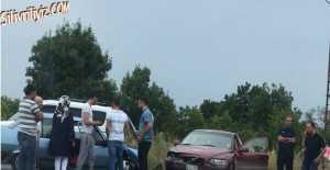 Alipaşa Yol Ayırımında Trafik Kazası…