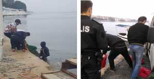 Selimpaşa'da Kaçak Midye Avlayan Yabancı Uyruklular Yakalandı…