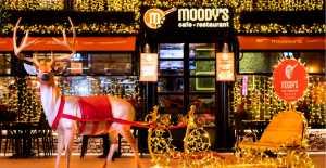 Moody's Cafe & Restaurant'ın yeni yıl sürprizi!