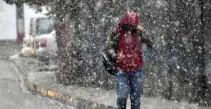 Silivri'ye Kar Geliyor...