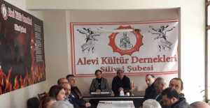 """Alevi Kültür Dernekleri Silivri Şubesi Açıklama Yaptı;"""" ÖZCAN IŞIKLAR'A OY YOK!"""""""