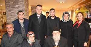 Mutlu Bozoğlu 67 Yıllık Evlileri Kutladı...