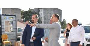 BAŞKAN YILMAZ, PROJELERİNİ EMRAH ŞAHAN'A ANLATTI...