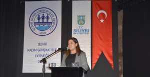 "SİLİVRİ'DE ""KADINA ŞİDDETE HAYIR"" KONFERANSI"