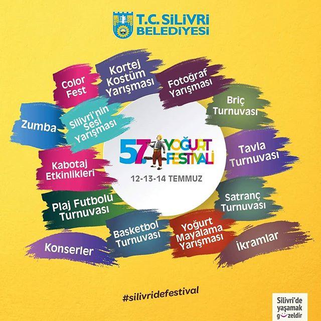 57. Silivri Yoğurt Festivali 2018